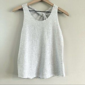 Eddie Bauer Striped Tank Top Size Small
